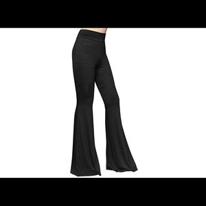 Pants - Black bell bottom flared pants festival x long NWT